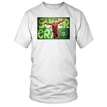 Super CR7 Cristiano Ronaldo Ladies T Shirt