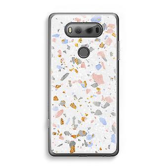 LG V20 gennemsigtig sag (Soft) - Terrazzo N ° 8