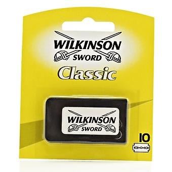 Wilkinson Sword Classic Double Edge (DE) Razorblades - Pack of 10s