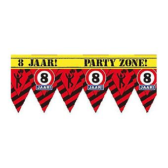 Party Tape - 8 jaar