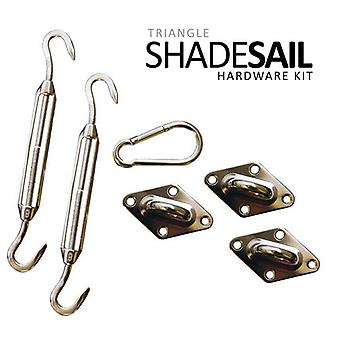 California Sun Sail Shade Hardware Kits - Triangle Kit