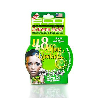 Eco Styler Play'n Stay Edge & Style Control Olive 3oz