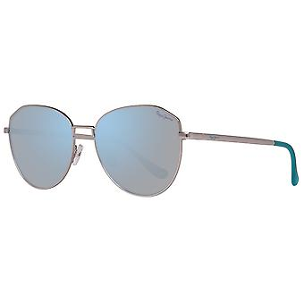Metal sunglasses silver mirrored Pepe jeans for women