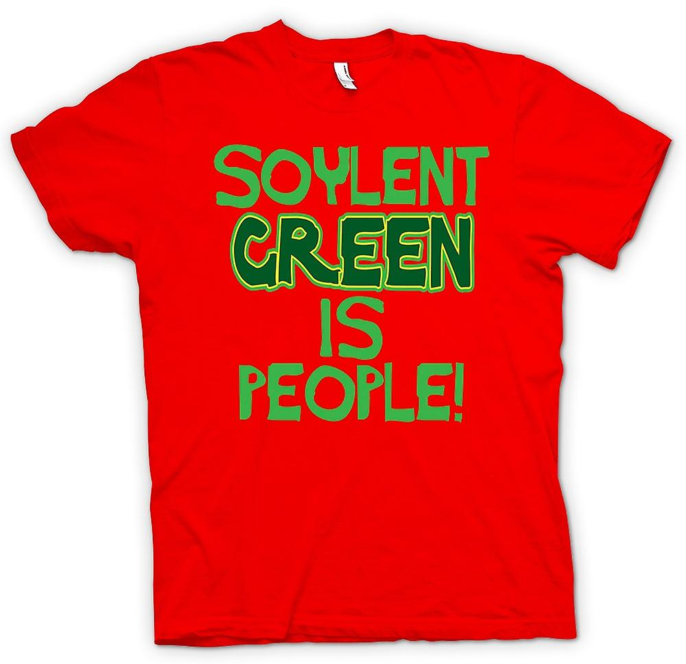 Mens T-shirt-Soylent Green ist People - lustig