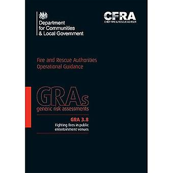Fighting fires in public entertainment venues (Generic Risk Assessment)