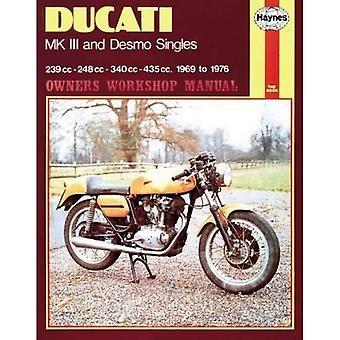 Ducati Mk.III en van de eigenaar van de Desmo Singles Werkplaats Handboek (Haynes eigenaren Workshop handleidingen)