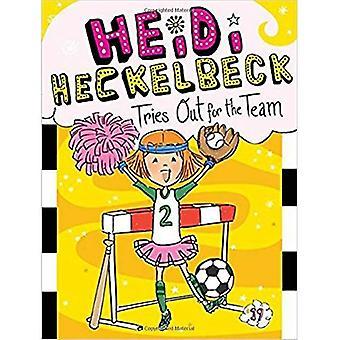 Heidi Heckelbeck essaie pour l'équipe
