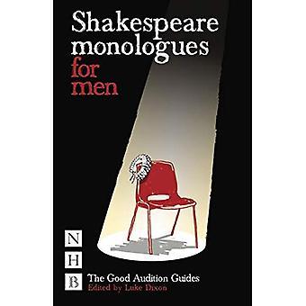 Monólogos de Shakespeare para los hombres (Guía de la buena audición)