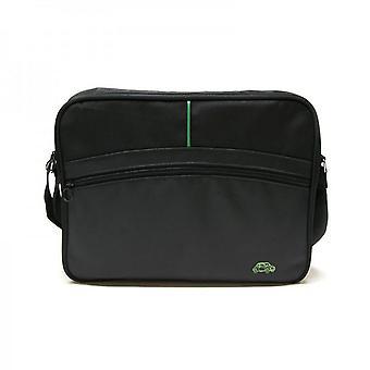 حقيقية وصفت فيات 500 سيارة حقيبة الكمبيوتر اللوحي الأسود رسول حقيبة حقيبة حزام القضية