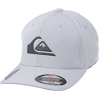 Quiksilver Mens Amped upp amfibie Flexfit Hat - slask grå