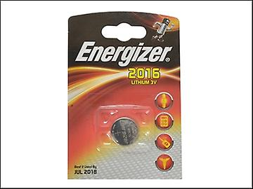 Energizer CR2016 moneda litio batería solo