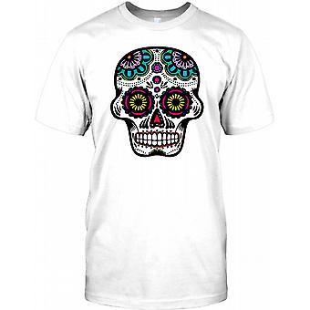 Mexicaine crâne de sucre - All Seeing Yeux Hommes T-shirt