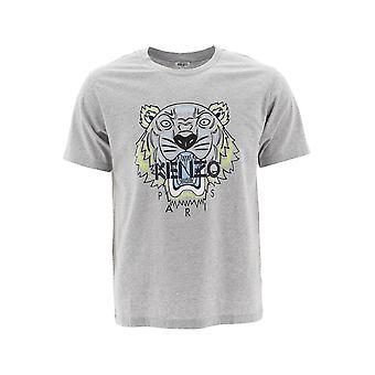 Kenzo Grey Cotton T-shirt