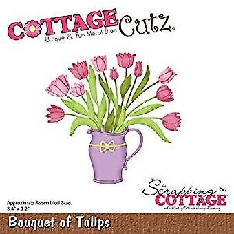 CottageCutz Bouquet of Tulips (CC-452)