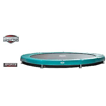 BERG InGround Elite 430 14ft Trampoline Sports Series Green