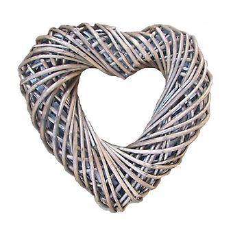 Wicker Large Heart Shaped Wreath