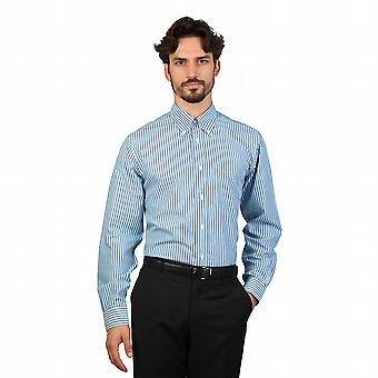 Brooks Brothers Shirts 100047584 Men Blue