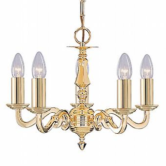 Searchlight Seville 2175-5NG 5 Chandelier