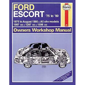 Ford Escort Owners Workshop Manual - 9780857337382 Book