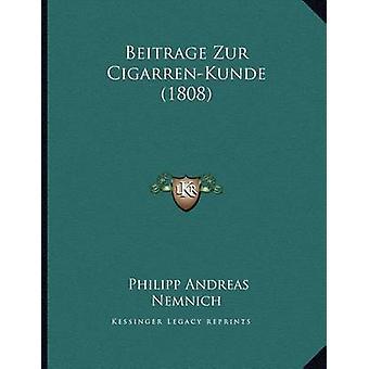 Beitrage Zur Cigarren-Kunde (1808) by Philipp Andreas Nemnich - 97811