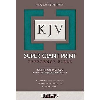KJV Super Giant Print Bible by Hendrickson Bibles - 9781683070214 Book