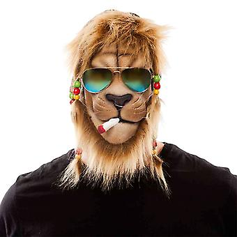 Lion reggae Mr costume mask