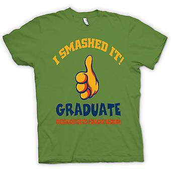 Womens T-shirt - I Smashed It - Funny Football
