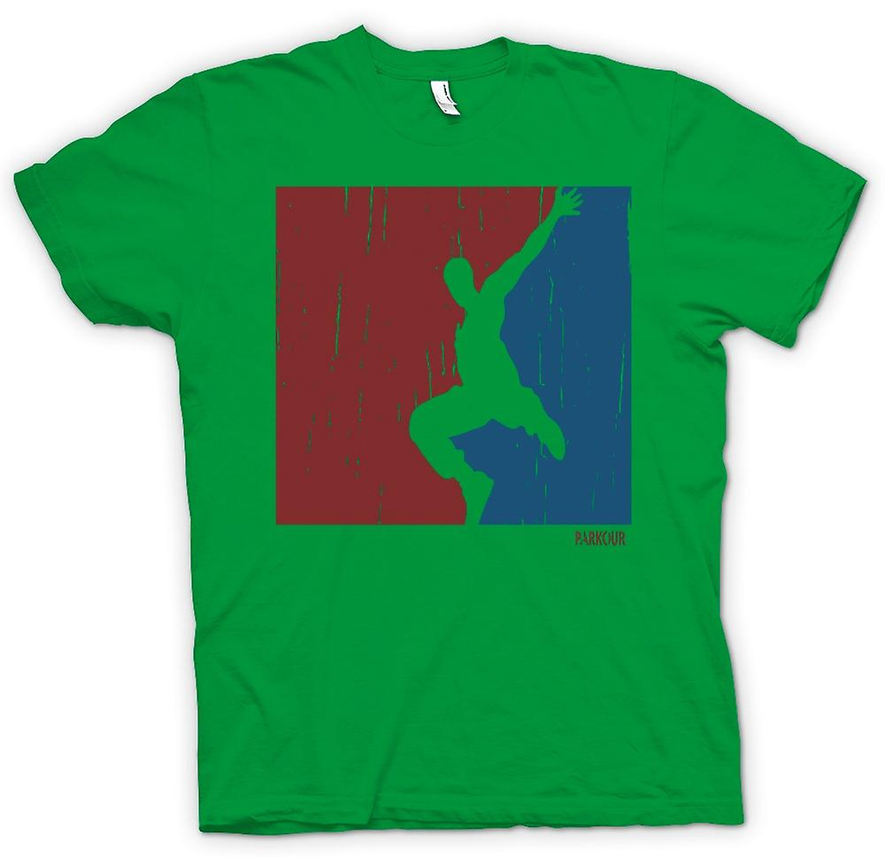 Mens T-shirt - Parkour - Free Running - Cool