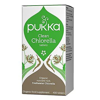 Pukka clean Chlorella tabletten 400