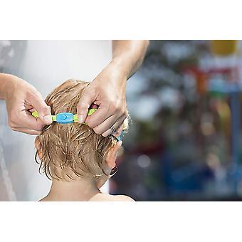 Zoggs óculos de natação para crianças pequena torção em azul/verde/matiz-0-6yrs