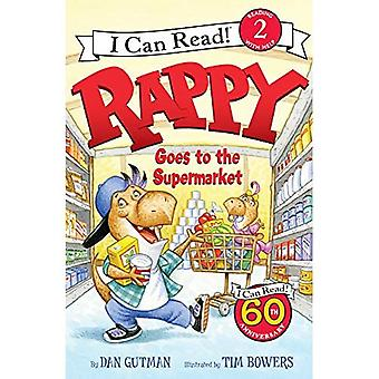 Rappy går i supermarkedet (jeg kan læse!: niveau 2)