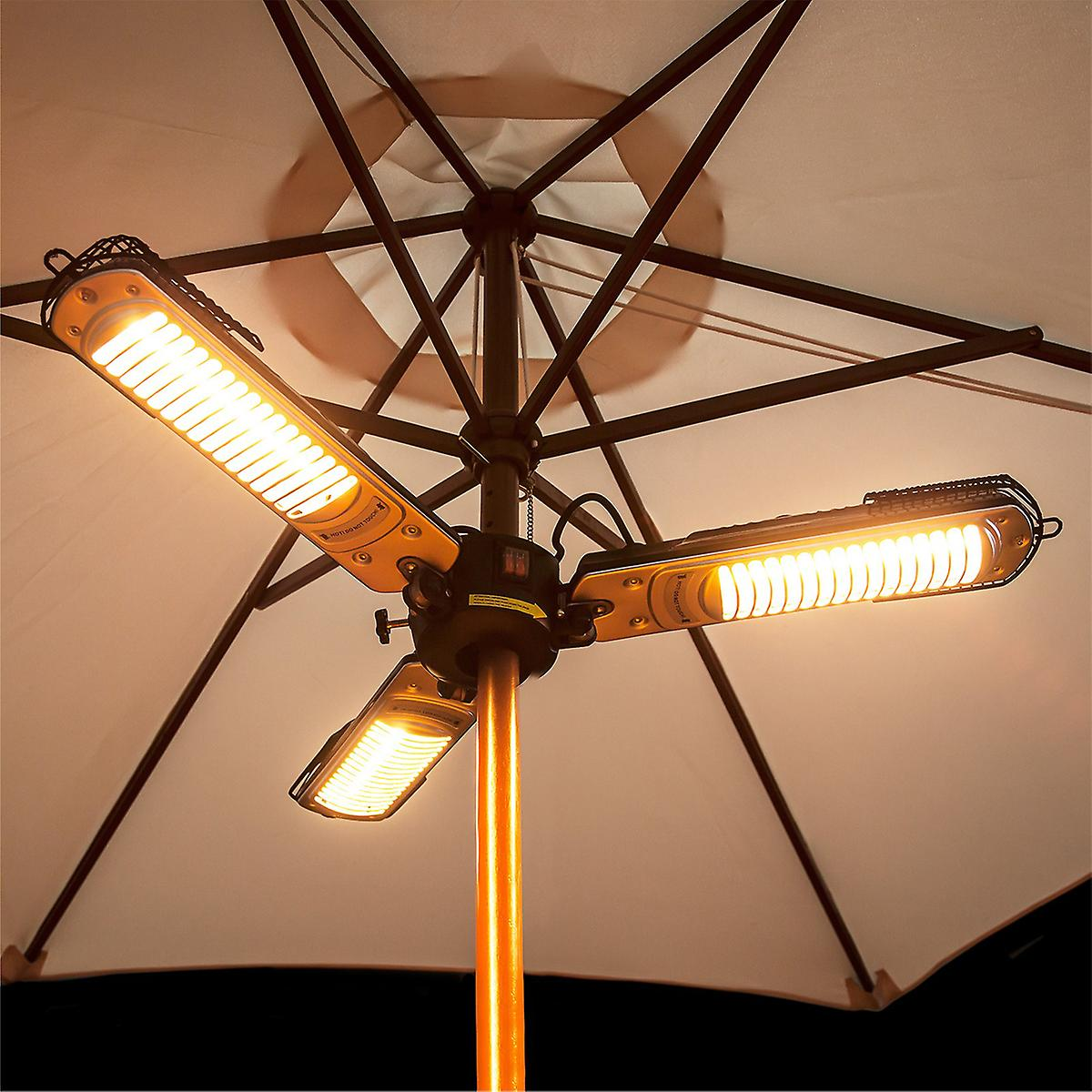 Charles Bentley 2000W Parasol Mounted Electric Patio Heater