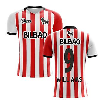 2019-2020 Athletic Bilbao Home Concept Football Shirt (WILLIAMS 9)