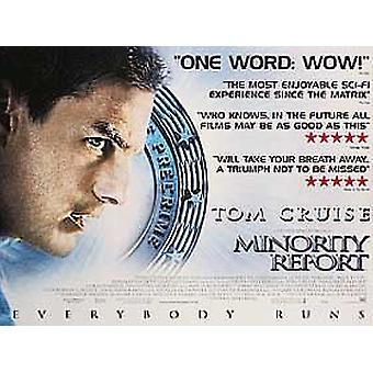 Minority Report (Double Sided) Original Cinema Poster