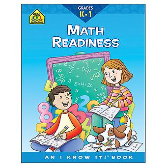 Curriculum Workbooks 32 Pages Math Readiness Grades K 1 Szcur 02049