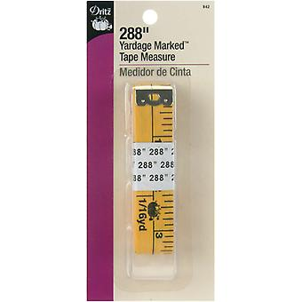 Yardage Marked Tape Measure 288