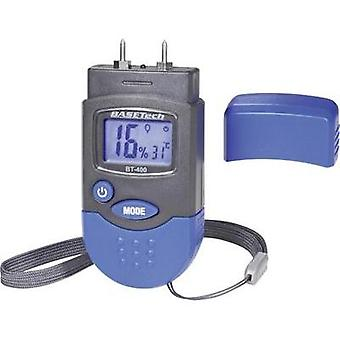 Moisture meter Basetech BT-400 Measuring range building moisture 0.2 up to 2 % vol Measuring range Wood moisture 6 up to