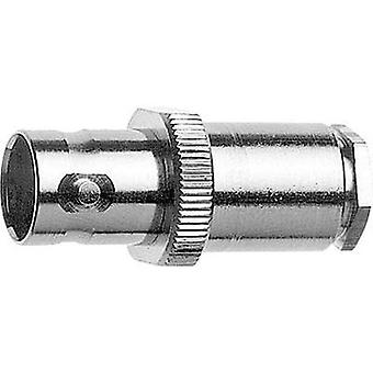 BNC connector Socket, straight 50 Ω Telegärtner J01001A0804 1 pc(s)