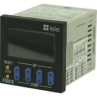 tele 180601 Time Delay Relay, Timer, 1 Changeover (floating) 100 - 240 Vac IP66 (for front installation)