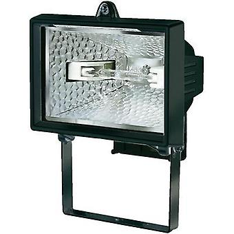 Outdoor floodlight HV halogen 120 W R7s Brennenstuhl H150 Black