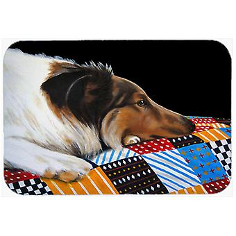 Day Dreamer Collie Kitchen or Bath Mat 20x30 AMB1037CMT