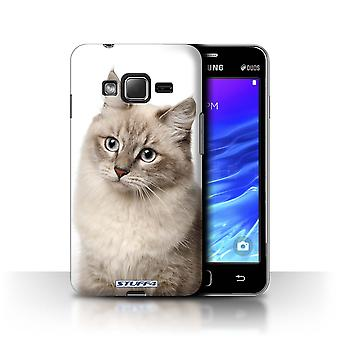 STUFF4 Case/Cover for Samsung Z1/Z130/Siberian/Cat Breeds
