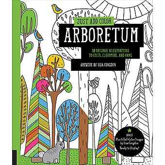 Rockport Books-Just Add Color - Arboretum RKP-91365