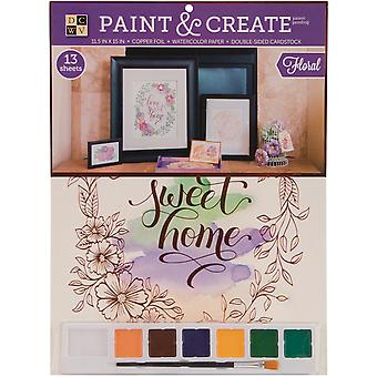 Paint & Create Watercolor Kit 11.5