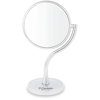 3 Claveles Base Increase mirror Giro S 360 Diameter 17 Cm (Woman , Makeup , Accessories)