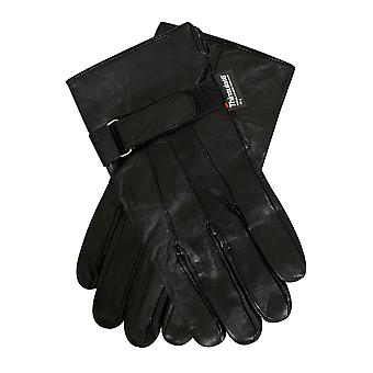 THINSULATE schwarz gefütterte Lederhandschuhe