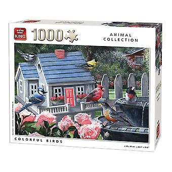 King Colorful birds puzzel 1000st. 05390