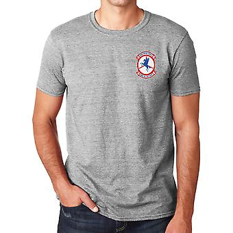 USMC HMM-161 The First - Vietnam War Embroidered Logo - Ringspun Cotton T Shirt