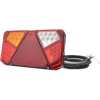 LEDs Trailer tail light Open cable ends left , rear 12 V, 24 V SecoRüt Transparent