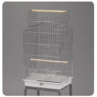 Mgz Alamber Large Parrot Cage Chrome Open (Birds , Bird Cages , Large Birds)
